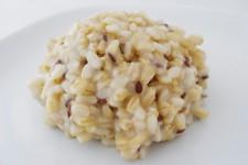 Rýže s bezpluchým ovsem a lněným semínkem – křupavá příloha