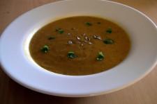 Krémová batátová polévka