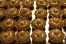 Ořechové košíčky s krémem