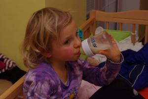Markétka (skoro 4 roky) chce taky svojí dávku