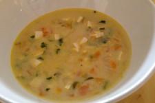 Jarní polévka s tofu