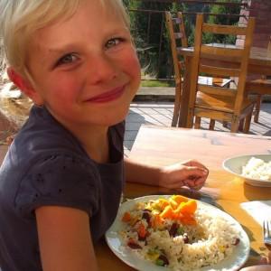 V restauraci končíme obvykle na zelenině a rýži