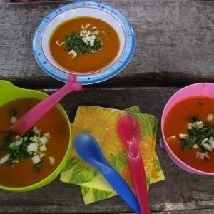 Dýňová polévka je pro nás lahůdkou