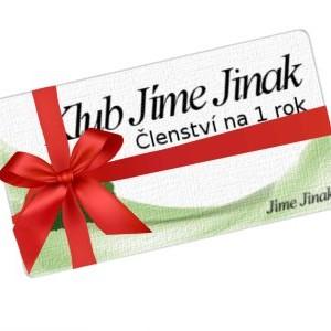 Dárkový poukaz na členství v klubu JJ