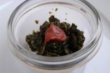 Kondiment z řasy Nori s dýňovým semínkem