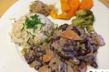 Fazolový guláš s mrkví a dýní