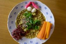 Zelenina-bulgur-mungo-kari z jednoho hrnce