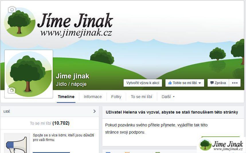 Facebook Jíme Jinak