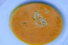 Zimní dýňová polévka