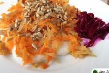 Rýžová kaše s mrkví a daikonem