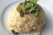 Celozrnná rýže s jáhlami a slunečnicovým semínkem