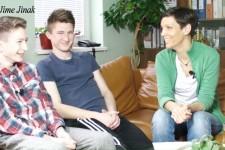 Ondřej (15 let) a Jakub (18 let) Hosnedlovi: Kluci od mě chtěli koupit sushi
