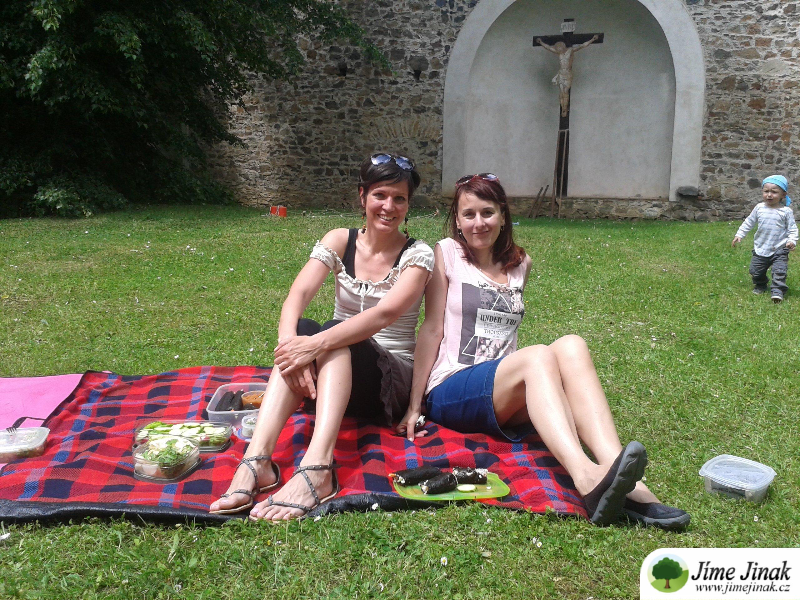 Eva a Helena piknik