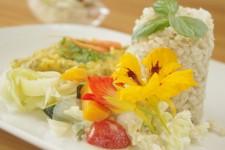 Kulatozrnná rýže se slunečnicovým semínkem