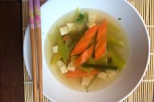 Zeleninová Dashi polévka