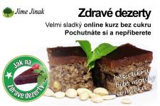 Zdravé dezerty – nový online kurz