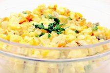 Bramborový salát bez brambor