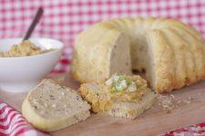 Bezlepkový semínkový chléb s rýží alias slaná bábovka