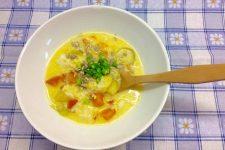 Vydatná zeleninová polévka s jáhlami