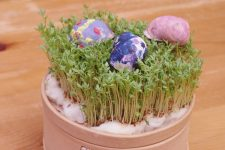 Velikonoční kraslice ze šnečích ulit