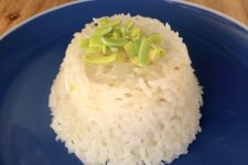 Restovaná rýže s cibulkou