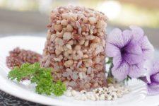 Perličkový ječmen a červená rýže (bezlepková příloha)