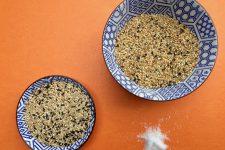 Pražené sezamové semínko a gomasio
