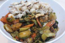Zeleninové stir-fry s tempehem