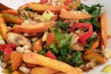 Smažená zeleninová směs