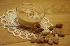 Jáhlový dezert s čokoládou a kokosem (bez mléka a cukru)