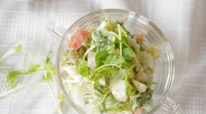 Celerový salát s výhonky hrášku 6ba7c8bea7